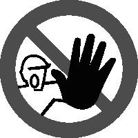 знак вход посторонним запрещен