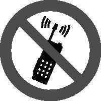 знак запрещается пользоваться мобильным телефоном