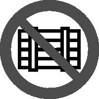 знак запрещается загромождать проходы и складировать