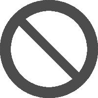 знак запрещается